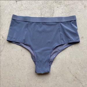 Negative sieve high waist brief underwear